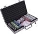 Покер чипове в алуминиеви куфарчета - 200, 300, 500! Налични!