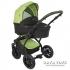 Комбинирана бебешка количка 2 в 1 TUTEK Tambero Green and Black с черна рамка