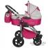 Комбинирана бебешка количка TUTEK Grander Purple and Silver 2 в 1