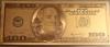 100 Долара - златна банкнота