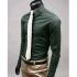 """Мъжка риза - маслено зелена Slim Stylish размер """"M"""""""