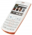"""GSM NOKIA Asha 205, 2.4"""", Orange/White"""