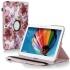 Кожен калъф за таблет Samsung Galaxy Tab 3 -10.1 инча Р5200,р5210 с цветя