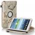 Кожен Калъф За Таблет Samsung Galaxy Tab 4 - 7 инча с карта