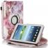 Калъф За Таблет Samsung Galaxy Tab 4 - 7 инча T230, T231, T235 цветя