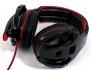 Гейминг Слушалки с кабел Gamdias EROS в червено и черно