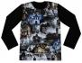 Детска блуза за хелоуин с призраци