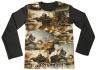 Детска блузка с танкове - дълъг ръкав