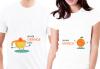 ТОП цена! Тениски за двойки, тениски за влюбени