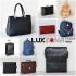 Дамски и мъжки чанти, раници, портмонета и портфейли, куфари и аксесоари.